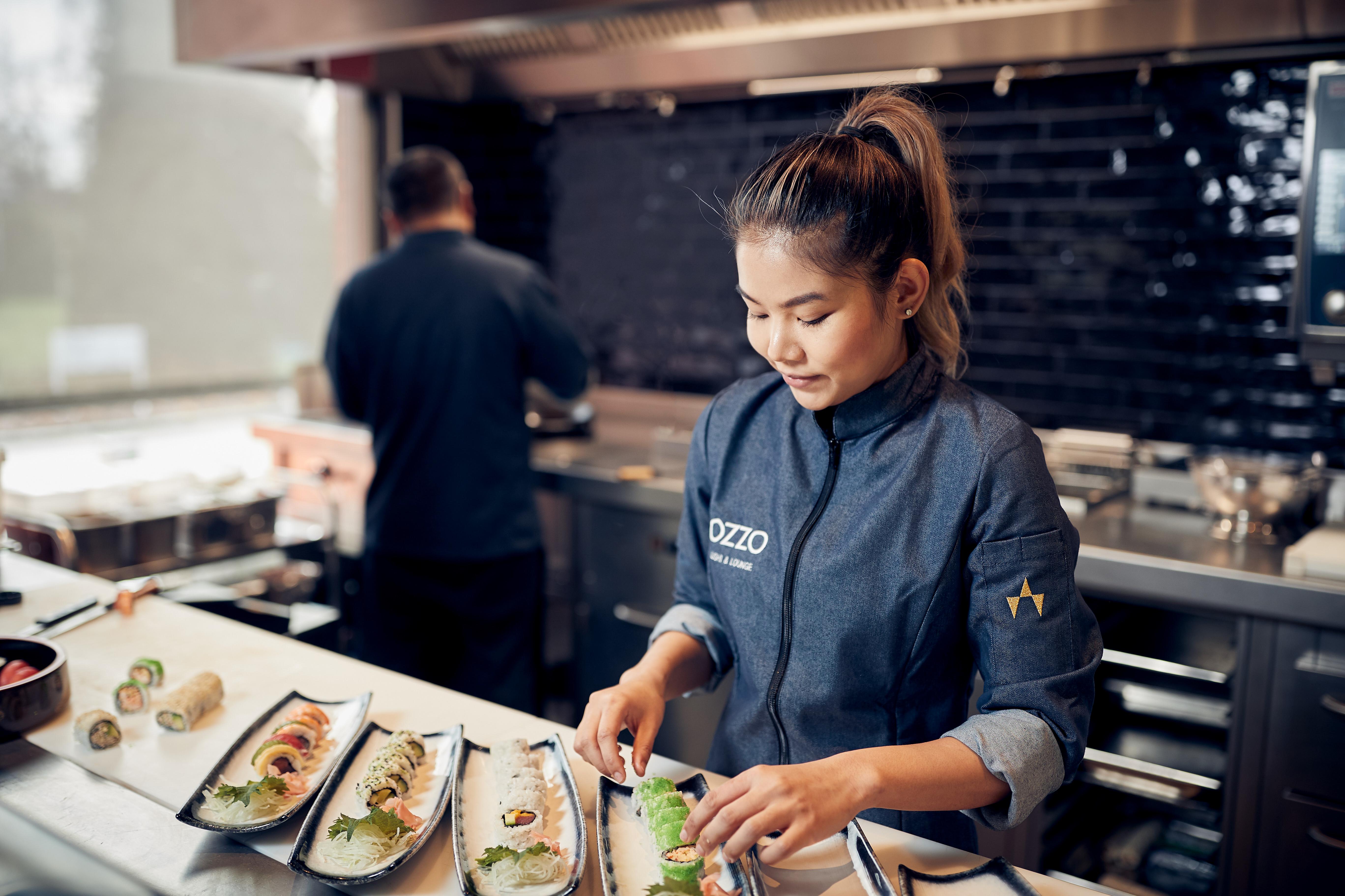 De kunst van sushi bereiden